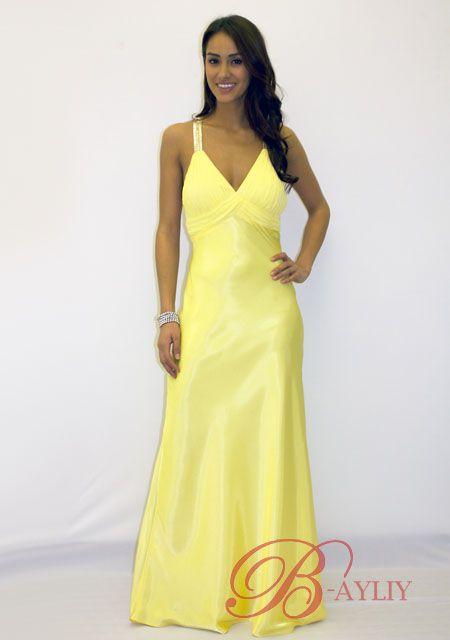 Robe jaune en ligne