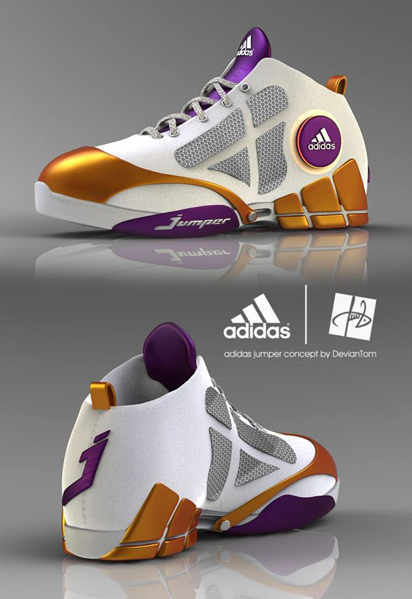 Adidas basketball shoe designs on Behance | Adidas