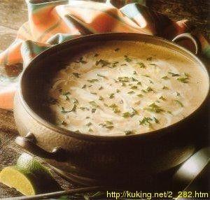 Это традиционный шотландский суп, сгущенный рисовым и крабовым пюре, приготовленным в молоке. 1.