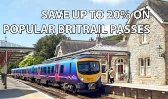Official BritRail Pass: Travel anywhere in England by rail for $305 (22 day pass)