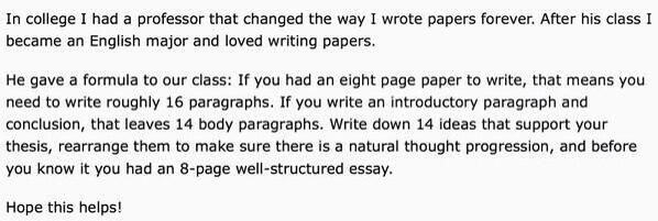 Twitter / LifeHacks: How to write fast, well ...