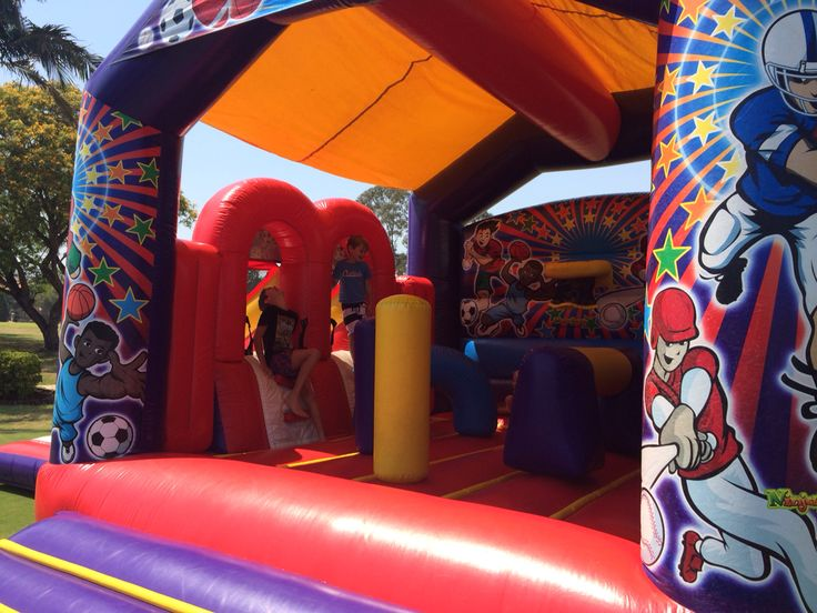 Sports interactive jumping castle- a whole lotta Jumpin!