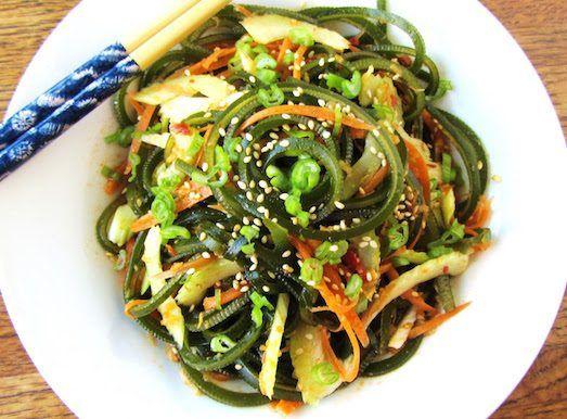 7 вкусных салатов для похудения