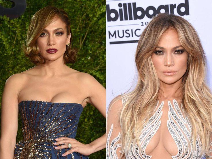 Jennifer Lopez et ses cheveux courts � New York.