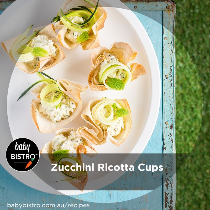 Such a fresh mix of textures and flavours, this versatile recipe makes a great morning or afternoon tea, or even a light lunch for the whole family.  The combo of crispy mountain bread, creamy ricotta and our Zucchini Puree is a winner.