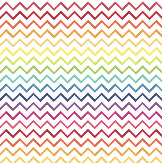 Tight Chevrons Overlay RAINBOW melstampz by melstampz, via Flickr