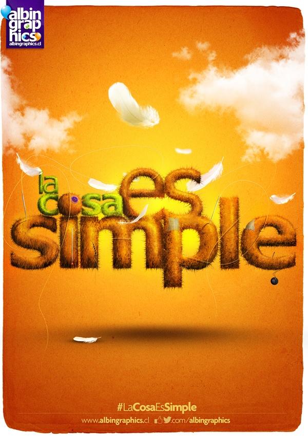 La Cosa Es Simple 2 #LaCosaEsSimple Ilustración Digital by Félix Farías, via Behance
