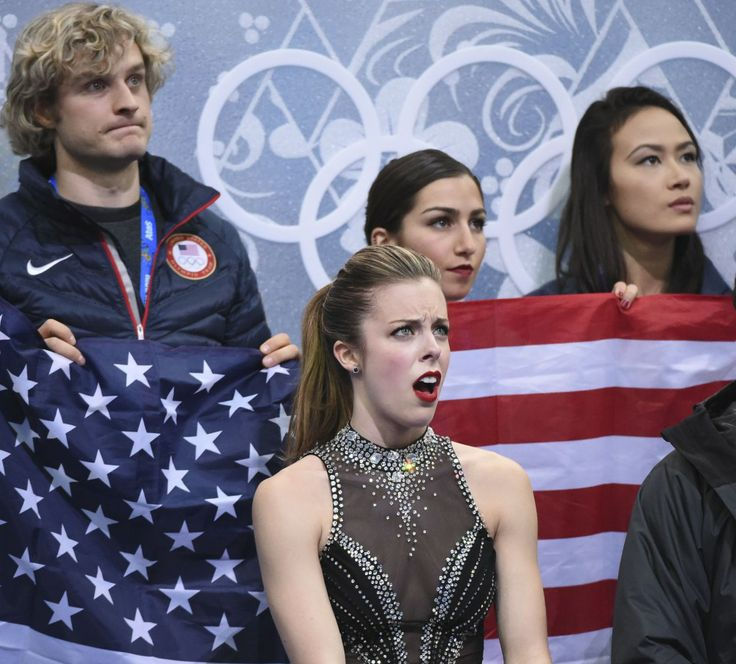 Ashley Wagner is appalled! (USA TODAY Sports Images)