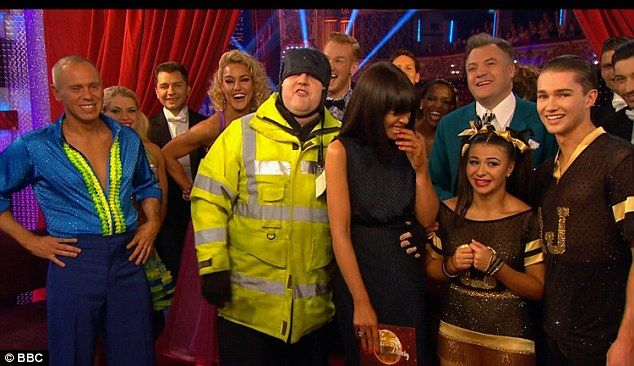 Splitting opinions: Peter Kay made a surprise appearance on Strictly on Saturday night - which divided his loyal fans