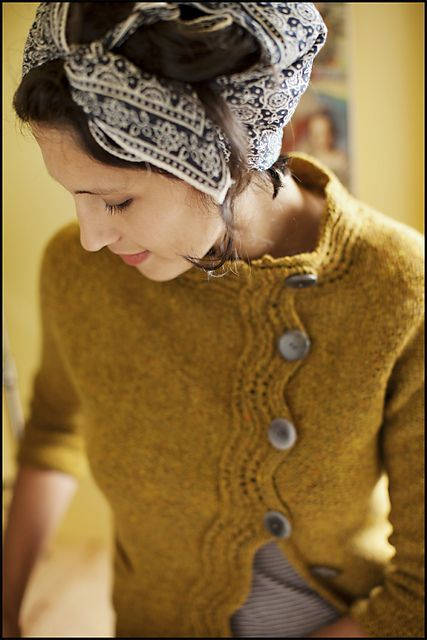 love the color and style of sweater