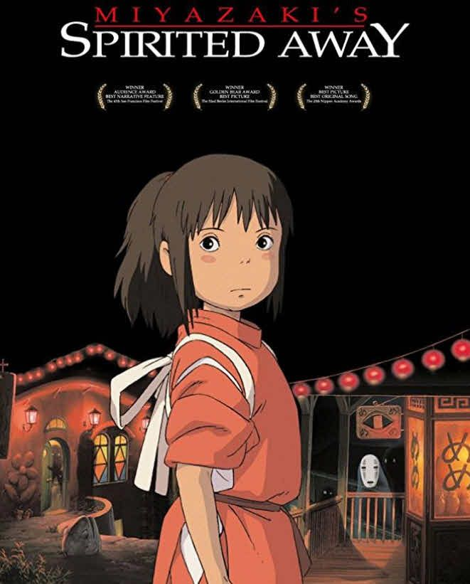 مشاهدة فيلم Spirited Away 2001 مترجم Anime Movies Spirited Away Animation Film