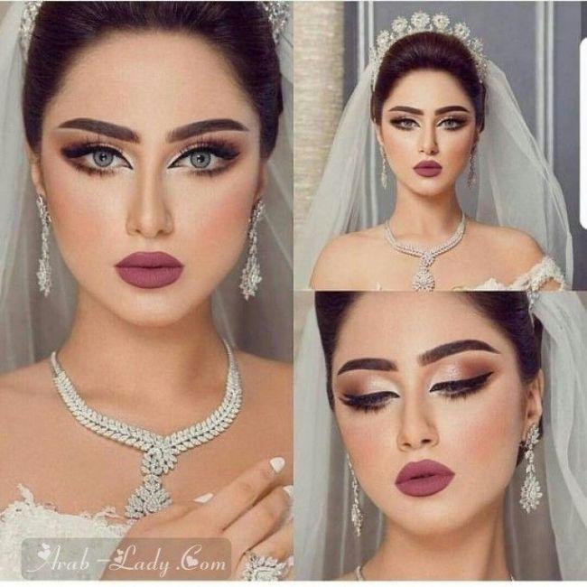 بالصور أحدث مكياج للعرائس مجلة المرأة العربية Frisur Hochzeit In 2019 Pinterest Wedding Makeup Bridal Bride Makeup Hair Makeup Wedding Hair And Makeup