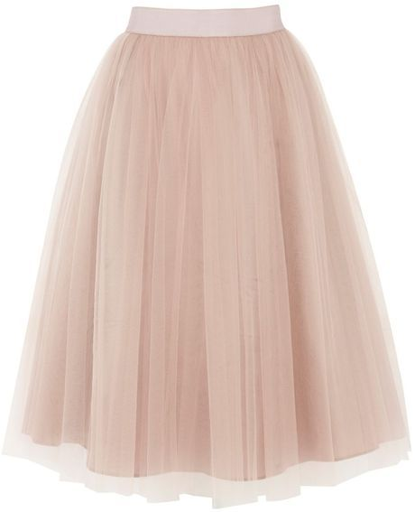 I saw this tulle skirt in the store, it would be purchased without a doubt... I love this!