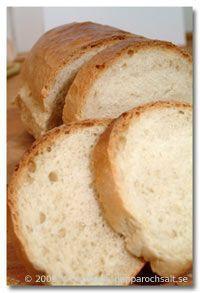 Franskbröd - Hembakat bröd