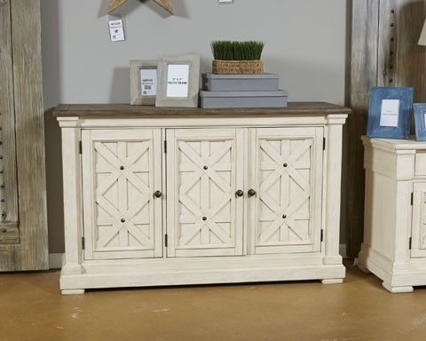 Bolanburg   White/Gray   Dining Room Server