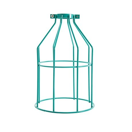 Mix and Match Levi Wire Pendant Cage  Aqua