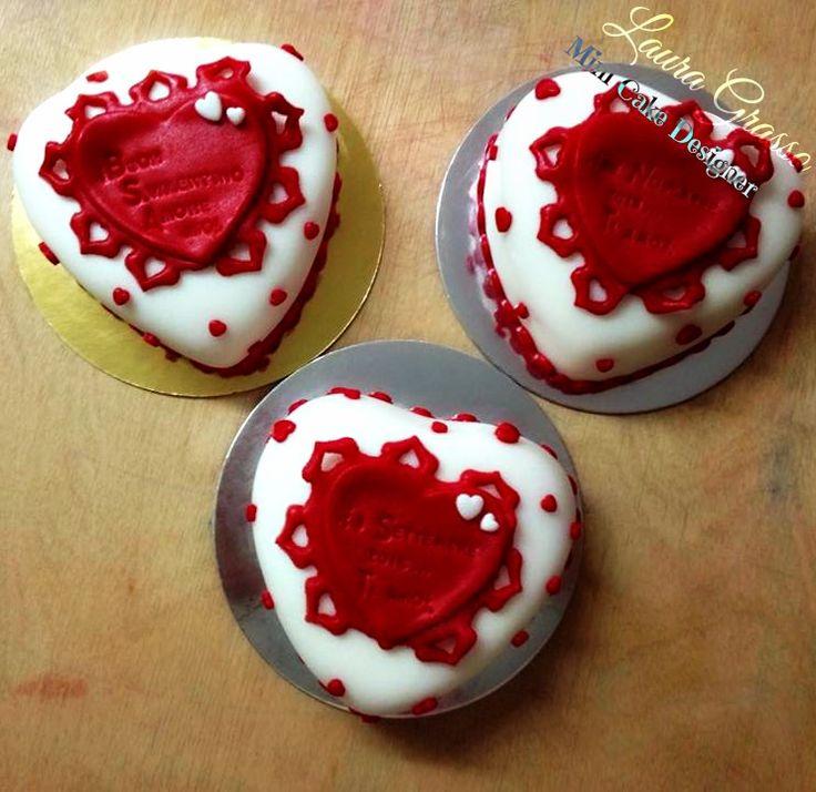 St.Valentine's mini cakes