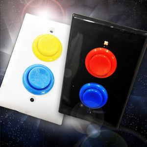 Why upgrade to arcade-button light switches? Because they'll up your chances at impressing Princess Toadstool.