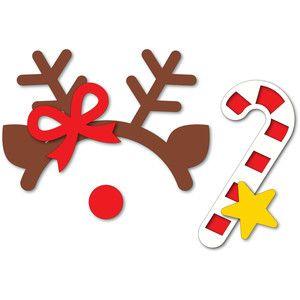 Силуэт Дизайн магазина - Просмотр Дизайн # 167011: рождественские фото реквизит оленей