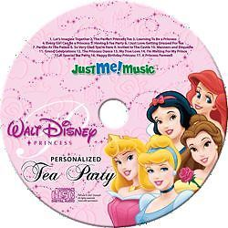 PERSONALIZED PRINCESS CD W/( YOUR KID NAME IN EVERY SONG) CHILDREN MUSIC CD