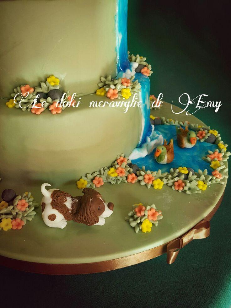 Cacciatore cake