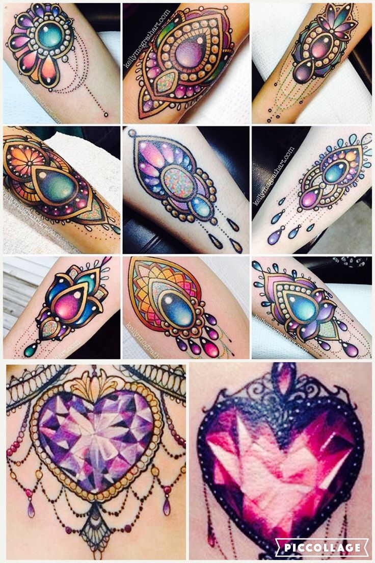 Gem tattoo design ideas ...