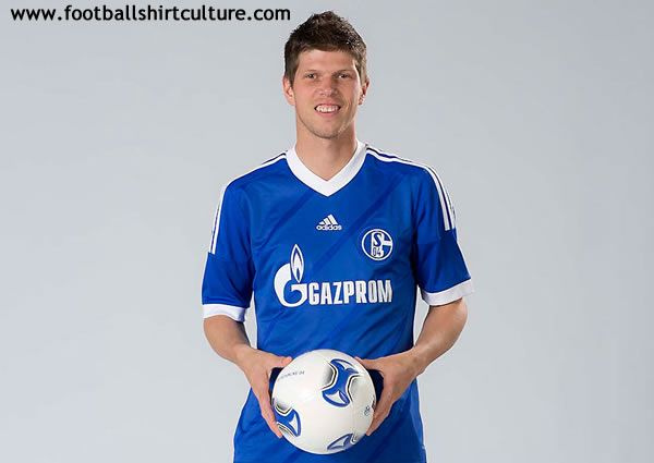 Schalke 04 Home Jersey for Bundesliga 2012/2013 // this is awesome, great