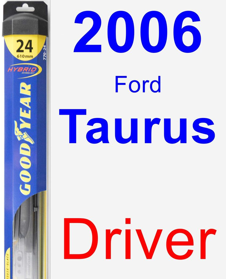 Driver Wiper Blade for 2006 Ford Taurus - Hybrid