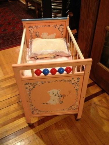 Vintage Baby Doll Crib   eBay