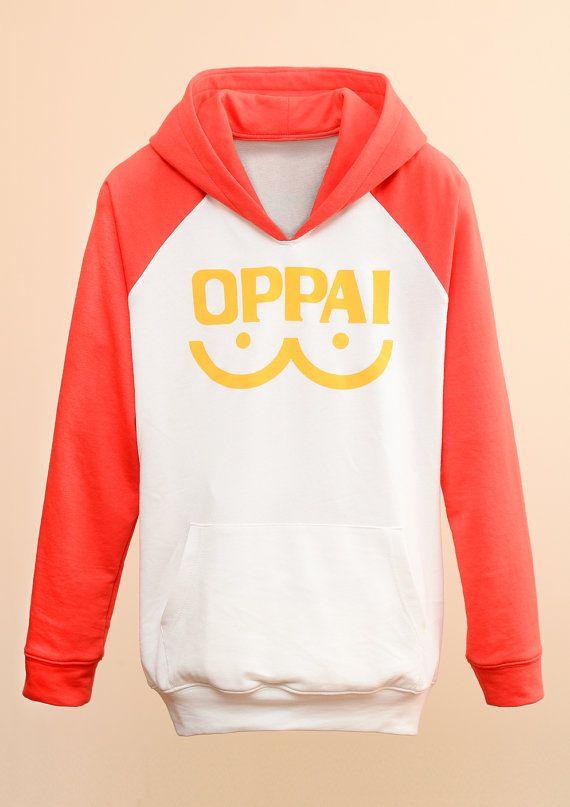 [One Punch Man] Saitama OPPAI Raglans Pullover Hoodies Jacket Cosplay Costume