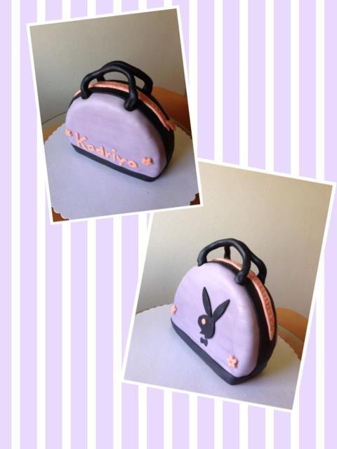 Playboy purse cake for my Bff's Birthday