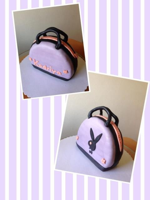 Playboy purse cake for my Bff's Birthday