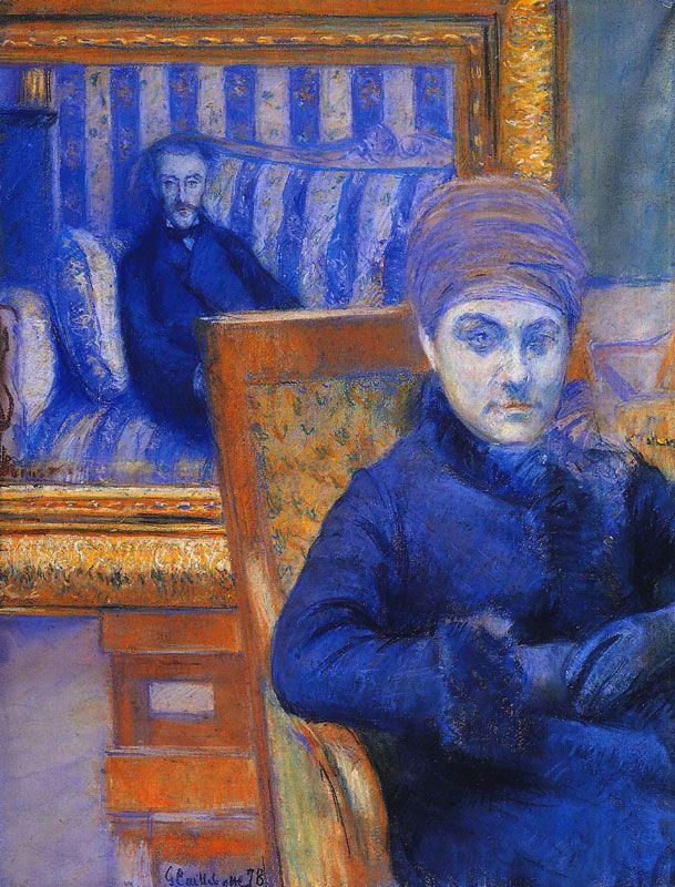 Gustave Caillebotte - Portrait de Madame X