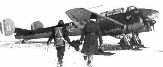 French Potez-633 bomber in Romanian service (Date and location unknown)