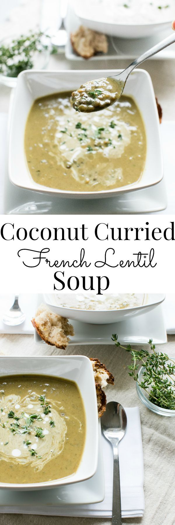 Rich, creamy and quick, this soup is packed with nourishing ingredients. | Vanilla And Bean