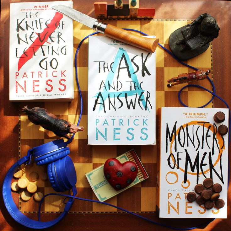 Chaos Walking: I Know What You're Thinking. | Bookwitty