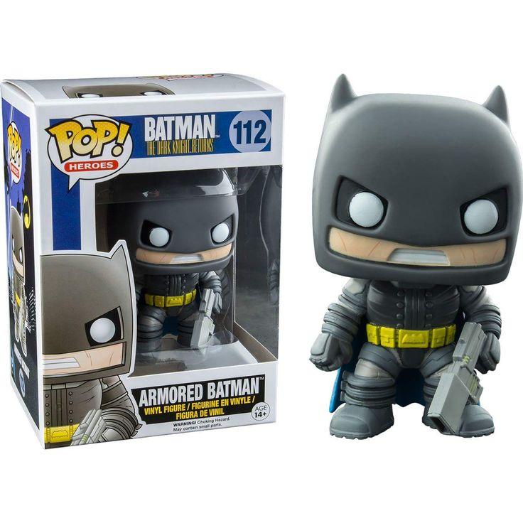 Armored Batman The Dark Knight Returns Pop! Heroes Funko POP! Vinyl