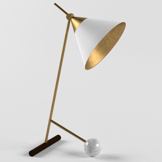 Cleo Table Lamp Kelly Wearstler 3d Lights Pinterest Table Lamp