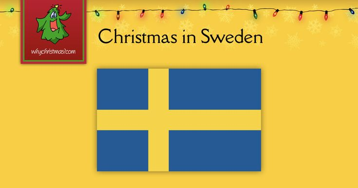 Find out how Christmas is celebrated in Sweden.