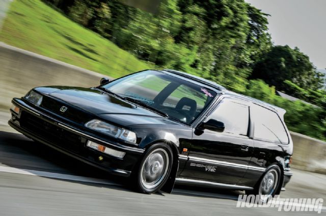 1991 honda civic si JDM frontend convesion 10