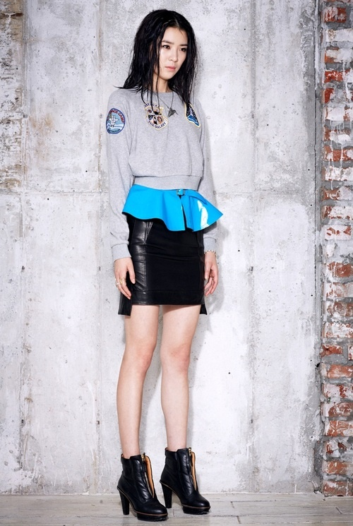 Irene Kim by Gong Young Gyu for Steve J and Yoni P FW 2012 collection