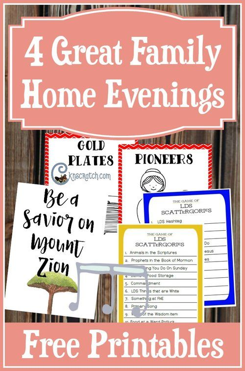 1000 Ideas About Family Home Evening On Pinterest Family Love Fhe Lessons