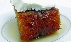 Ekmeğini kendiniz hazırlamak istemiyorsanız hazırını alıp sadece şerbeti yapıp soğuk bir şekilde üzerine dökebilirsiniz. AFİYET OLSUN.