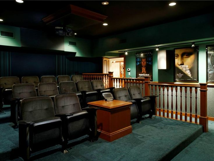 33 best home theater images on pinterest home theatre for Homes for sale with theater room