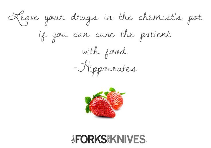 We'll never stop talking about food as medicine, because we believe it's the conversation that saves lives.
