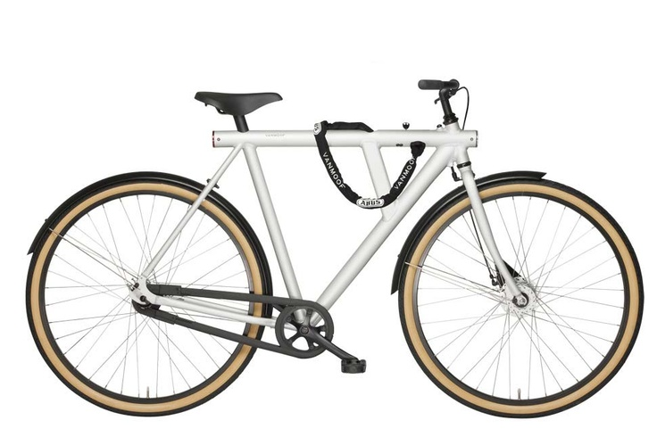 """VANMOOF 5 with single speed and 28"""" frame - VANMOOF - commuter bicycles"""