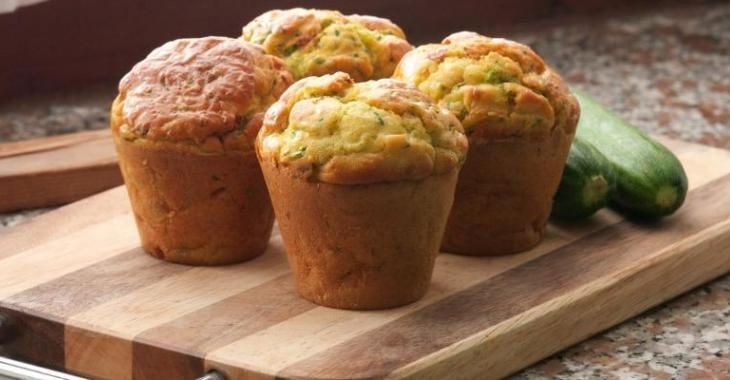 Muffins aux courgettes santé