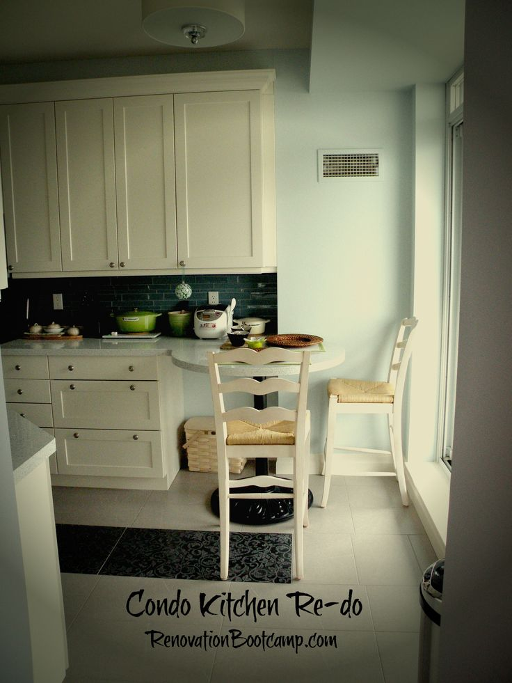 #Kitchen #renovation in a condo can pose some special challenges. See the before and after RenovationBootcamp.com/existing-condo-remodel