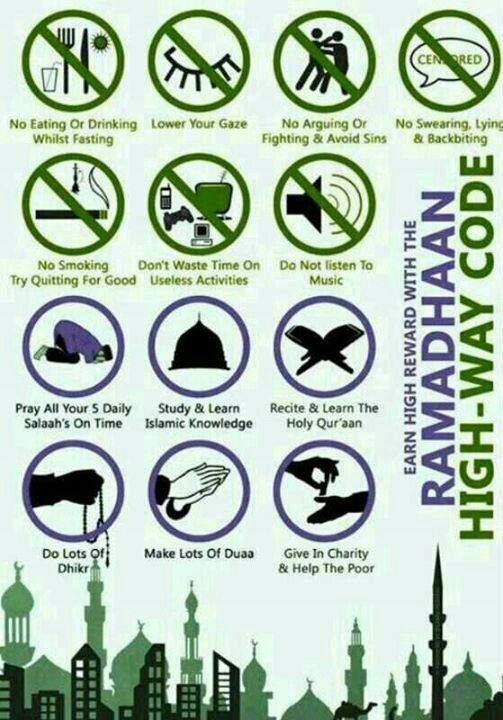 Practise this not only during Ramadhan, but even after.