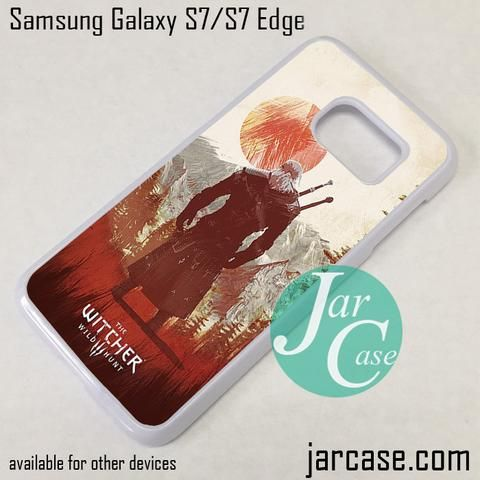 The Witcher 3 Phone Case for Samsung Galaxy S7 & S7 Edge